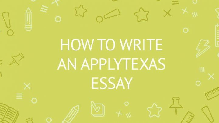 Apply Texas essay topics